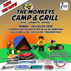 THE MONKEYS CAMP & GRILL @ pin Bar Altro, Via Dei Muratori 4/e, 43123 Parma